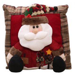 Cojín de Santa Claus 3D