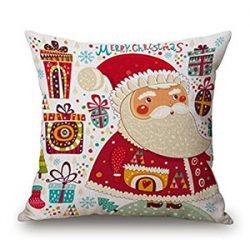 Cojín ilustrado de Santa Claus