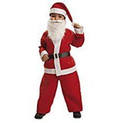Disfraz de Santa Claus para niños de 3 a 4 años
