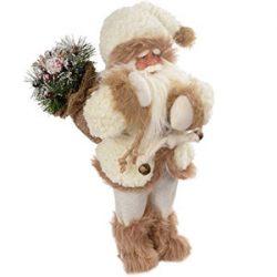 Figura de Santa con abrigo