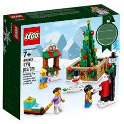 Juego Lego. Christmas town