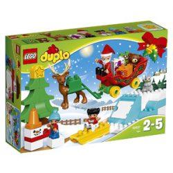 Juego Lego Duplo. Trineo Papá Noel