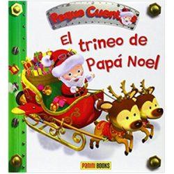 Portada libro, El Trineo de Papá Noel