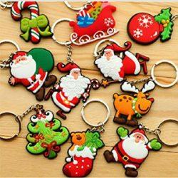 Llaveros Santa Claus. Varios modelos