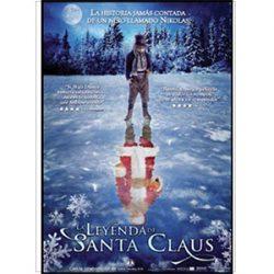 Portada de la película, La Leyenda de Santa Claus