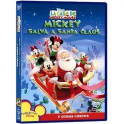 Portada de la película, Mickey Salva a Santa Claus