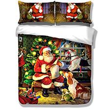 Ropa de cama de Santa Claus