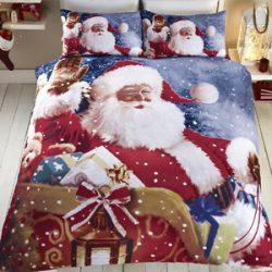 Ropa de Cama Papá Noel, individual