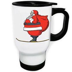 Taza térmica de Santa Claus