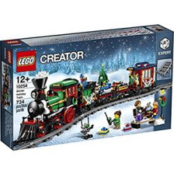 Juego Lego de Construcción. Winter Holiday Train