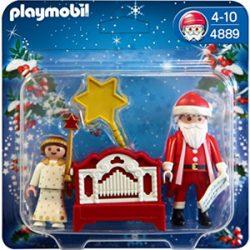 Juego Playmobil. Santa Claus, angel y órgano