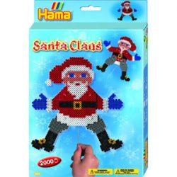Set Creativo de Cuentas de Santa Claus
