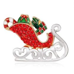 Broche Santa Claus Trineo