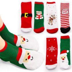 Calcetines de Santa Claus varios modelos