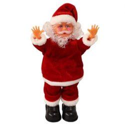 Figura de Santa Claus que canta y baila