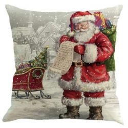 Funda de cojín de Santa Claus