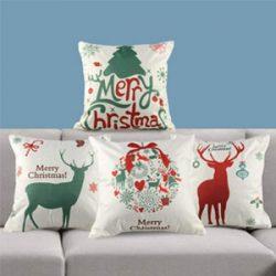 Fundas para cojines Merry Christmas