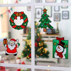 Pegatinas de Navidad para ventana o pared