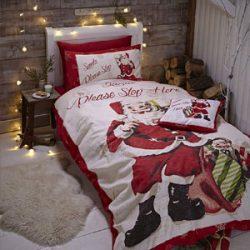 Juego de ropa de cama Papá Noel