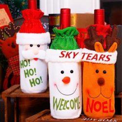 Bolsas de Santa Claus para botellas