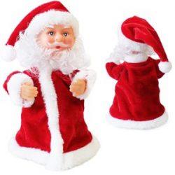 Adorno de Papá Noel que canta y baila