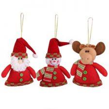 Adornos de Santa Claus