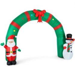 Arco inflable de Santa Claus