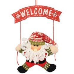 Colgante de Santa Claus para puerta