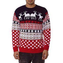 Jersey con renos de Navidad
