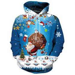 Sudadera de Santa Claus con saco