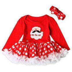 Ropa Bebé , Amlaiworld Bebé recién nacido niñas princesa Santa Claus tutú