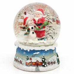 Bola de nieve, Santa