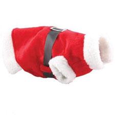 Littleduckling Rojo Navidad Mascota Cachorro Perro Gato Navidad Disfraz Santa Claus