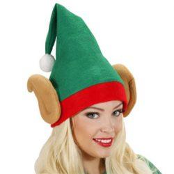 WIDMANN S.R.L. Santas Little Helper Elf s con Orejas de Navidad