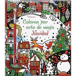 Colorea por arte de magia. Navidad