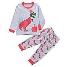 OLP Niño Ropa de Dormir Navidad Ropa niñas Unisex Pijama Bebe