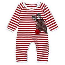Niño Familia Navidad Pijamas Rayas