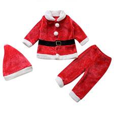 Ropa de bebé de Santa Claus