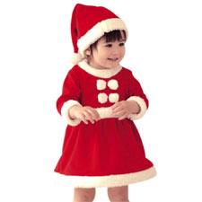 hibote Navidad Sparkling señora Claus Dress & Leggings de Navidad