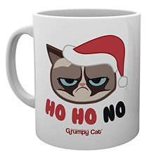 GB Eye LTD, Grumpy Cat, Ho Ho Ho Christmas Mug, Taza