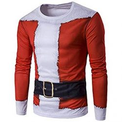Camiseta disfraz de Santa Claus