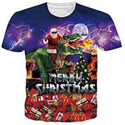 Camiseta Merry Christhmas Santa Claus