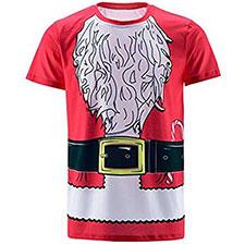 Camiseta de Santa Claus