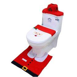 Adornos de Santa Claus para decoración de baño
