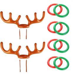 Cuernos de reno inflables con anillas