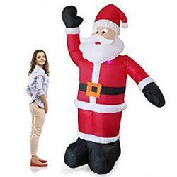Hinchable de Santa Claus 240 cm